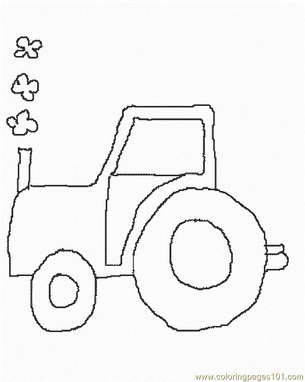 30 best Gritty Tractor Coloring Pages images on Pinterest Tractor - copy simple tractor coloring pages