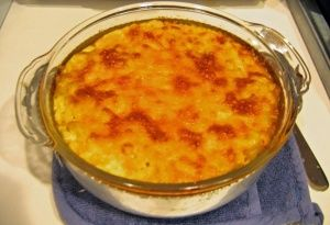 Macaroni pie (West Indian) - my mum and gran make the best ones :)