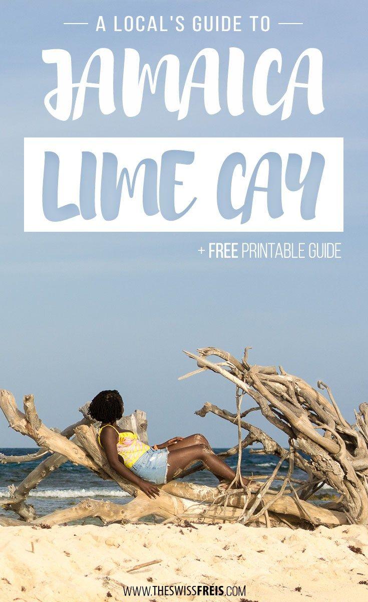 A Local S Guide To Jamaica Lime Cay Beach Jamaica Travel