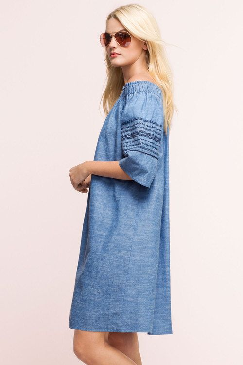 EZIBUY Emerge Off the Shoulder Dress  Style Number:179091