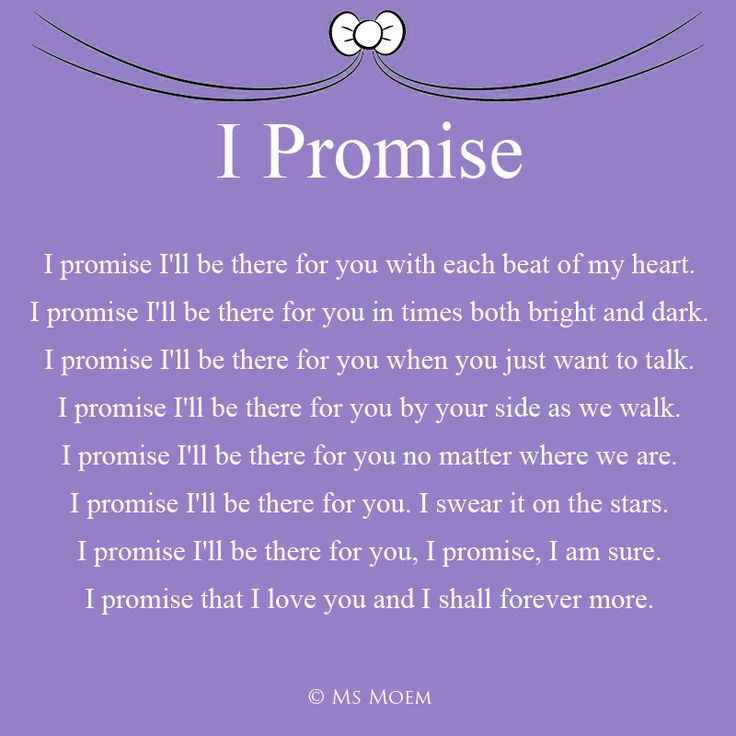i promise romantic wedding poem for the wedding ceremony by ms moem msmoem