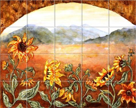 Sunflower Kitchen Decor - Kitchen A