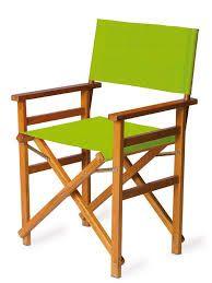 Resultado de imagen para silla madera plegable con lona