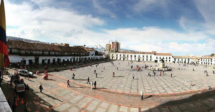 Plaza de Bolívar, Tunja, boyacá, Colombia