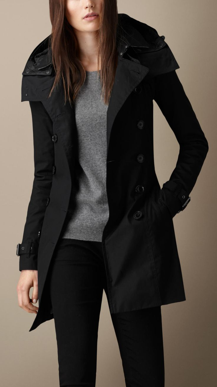Hooded Trench Coat with Warmer | Burberry