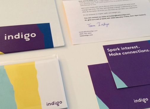Memberships rolling in & we're packing our 1st member gifts! #first100 #Retirement #SparkJoy http://www.helloindigo.com