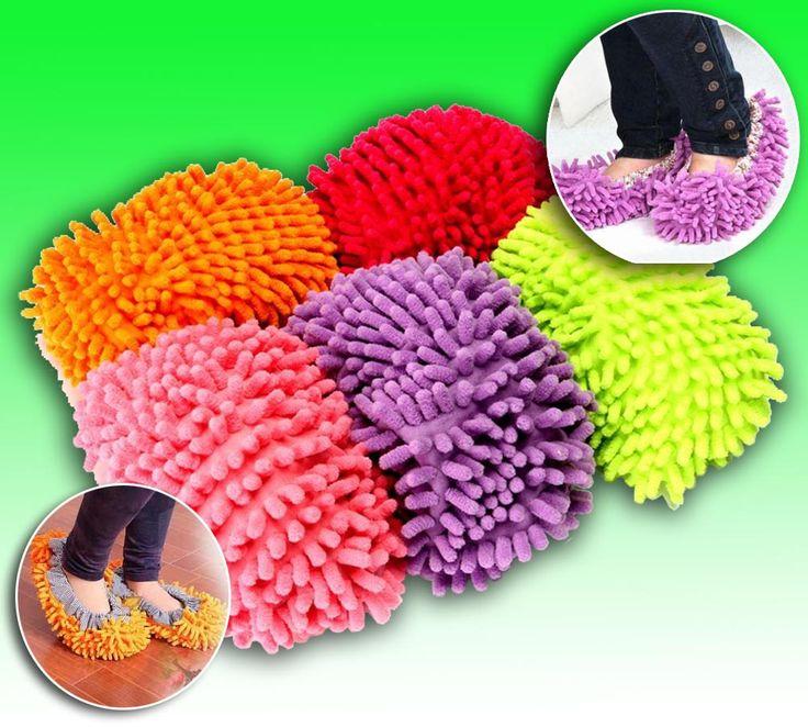 Тапочки из микрофибры