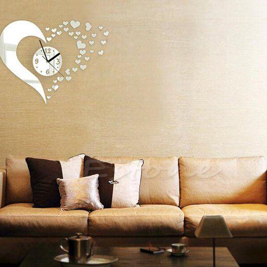 Pi di 25 fantastiche idee su decorazione della parete d - Numeri adesivi leroy merlin ...