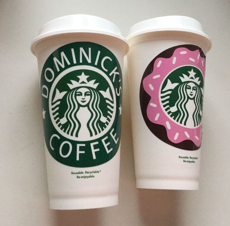 Starbucks Personalized, Reusable Plastic Cup