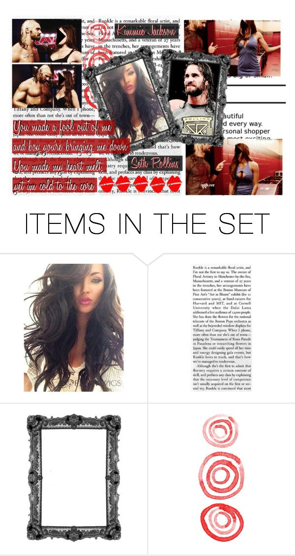 """""""WWE // OC Kimmie Jackson // But rumor has it, I'm the one you're leaving  her for."""" by alyssaclair-winchester ❤ liked on Polyvore featuring art, WWE, OC and sethrollins"""