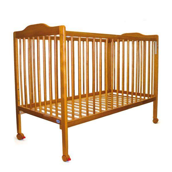 Cuna de bebé de roble Asalvo color miel 120x60 cm [151001] | 180,00€ : La tienda online para tu peke | tienda bebe pekebuba.com