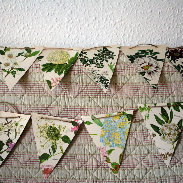 A personal favourite from my Etsy shop https://www.etsy.com/uk/listing/527817531/flower-paper-bunting-garlands-hand-made