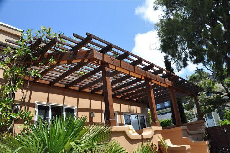 11 best Patio overhang images on Pinterest   Backyard ... on Backyard Overhang Ideas id=90223