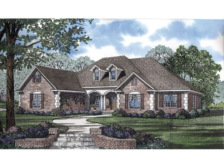 17 best images about new home on pinterest french for French country ranch house plans