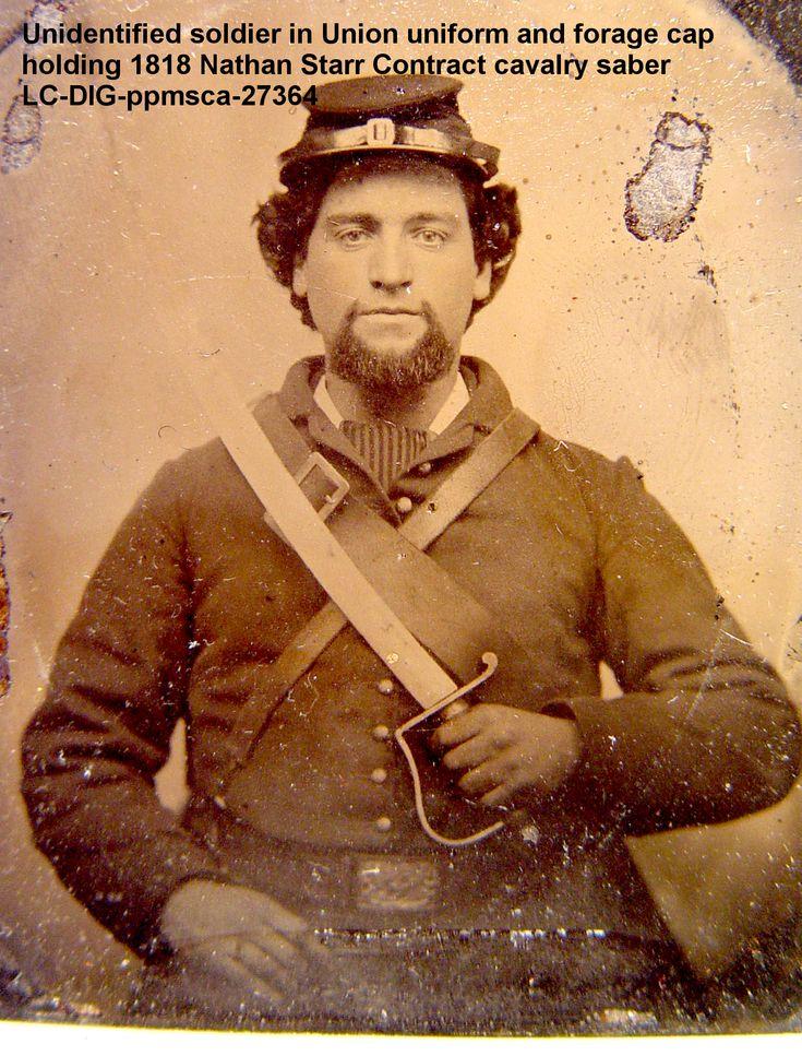Cavalry sabers were durable, heavy, and designed to be used from horseback. https://www.amazon.com/Journal-Cavalry-Bugler-Georgiann-Baldino/dp/0985912332