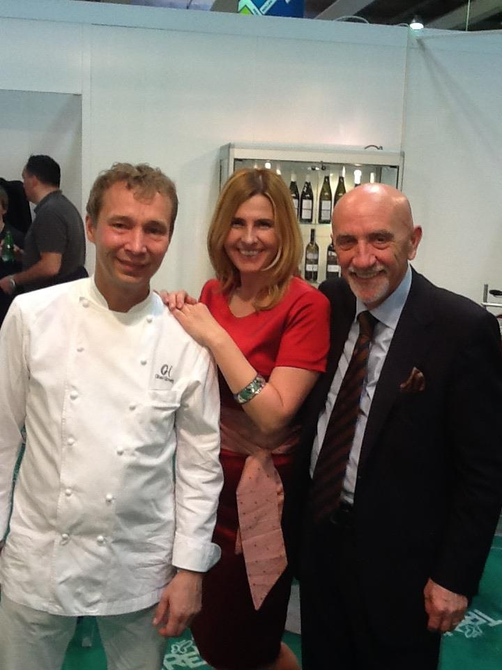 Oliver Glowig - Oliverr Glowig Restaurant  Fausto Arrighi - Guida Michelin