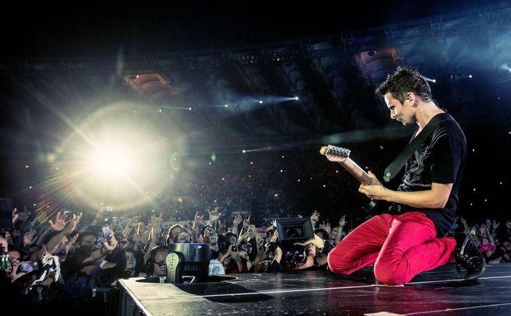 Muse - Stadio Olimpico, Rome, July 2013 - Photographer: Hans Peter Van Velthoven