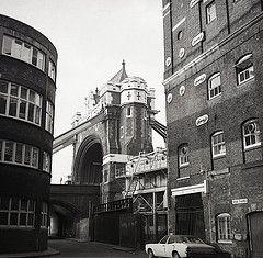 The corner of Horsleydown Lane
