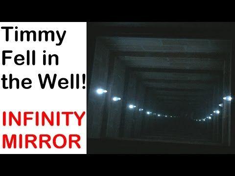 Infinity Mirror table - YouTube