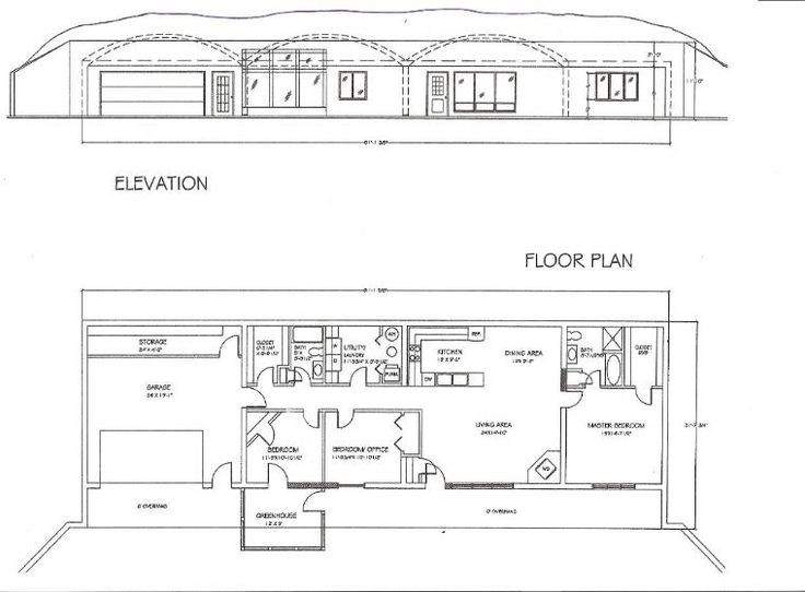 Earth sheltered homes floor plans house plan 2017 for Earth sheltered home plans