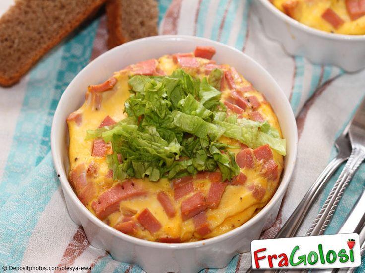 Ricetta - Frittata di patate e salsiccia al forno - Ingredienti e preparazione per ottenere la Frittata di patate e salsiccia al forno.