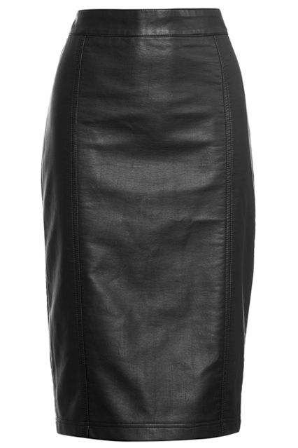 17 best ideas about faux leather pencil skirt on