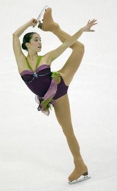 Alissa Czisny -Purple/Lilac Figure Skating / Ice Skating dress inspiration for Sk8 Gr8 Designs.