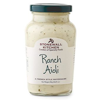 Ranch Aioli - it may be hard to believe but Ranch flavor is virtually unknown in many parts of the world and is often described as an American flavor. That's why we used the most flavorful ingredients like farm fresh eggs, churned buttermilk, spices and good 'ol American know-how to create that unmistakably bold Ranch flavor. Enjoy this on sandwiches, burgers, grilled meats or as a dip.