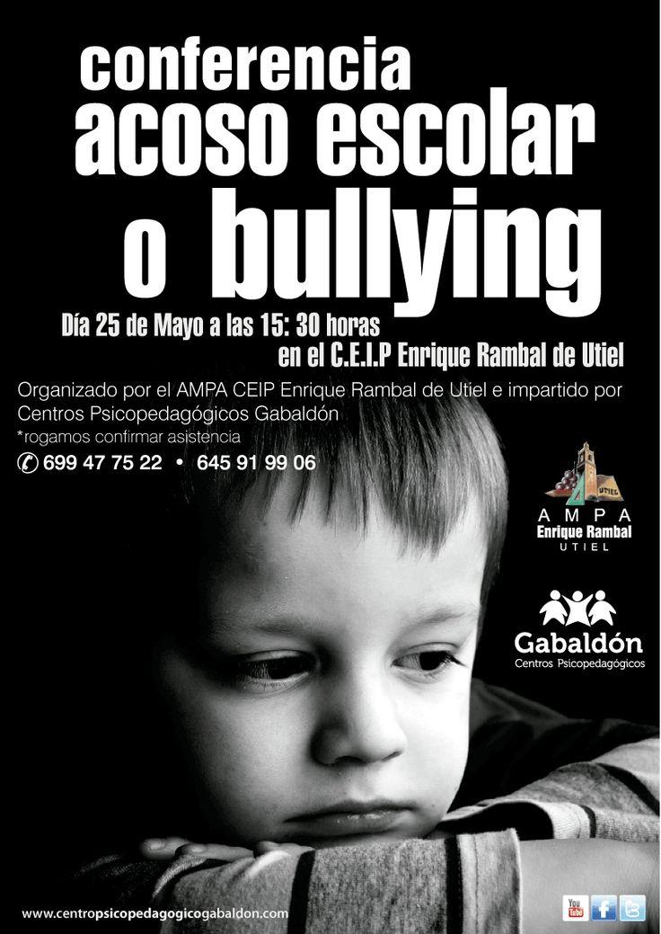 Conferencia Acoso Escolar o Bullying