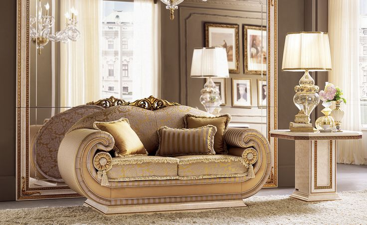 Leonardo Collection Living Room, Sofa and Side Table www.arredoclassic.com/living-room/sofas-leonardo