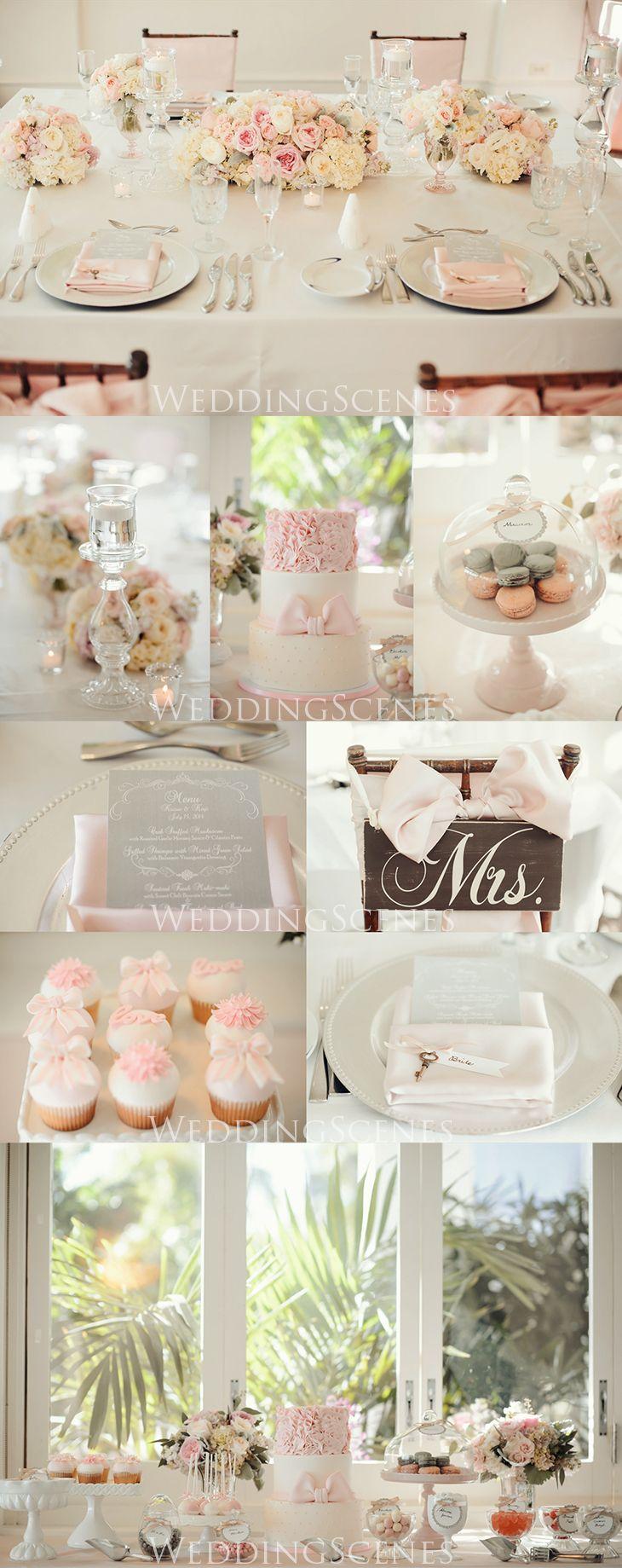 ピンク×グレー コーディネート |ハワイウェディングプランナーNAOKOの欧米スタイル結婚式ブログ