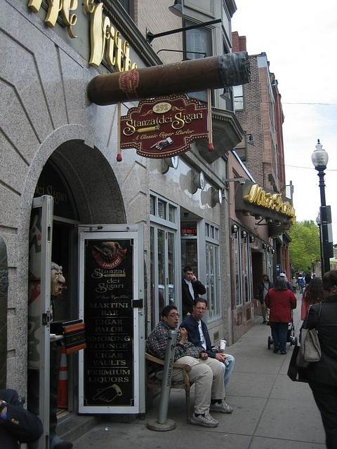 .Stanza Dei Sigari's- North End Boston