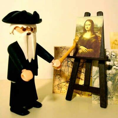 Leonardo da Vinci. | Playmobil | Pinterest | Leonardo da vinci