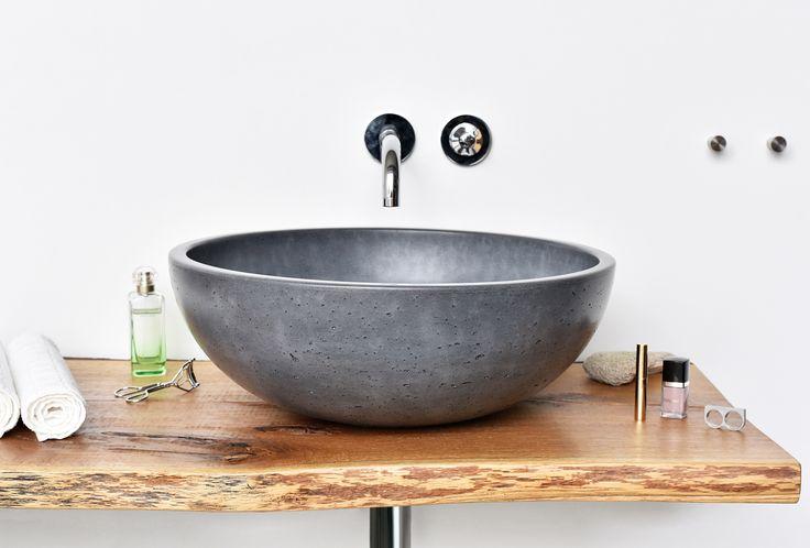 Concrete washbasin ORB by Gravelli design Tomáš Vacek