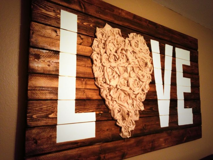 // DIY Rustic Wall Art \\