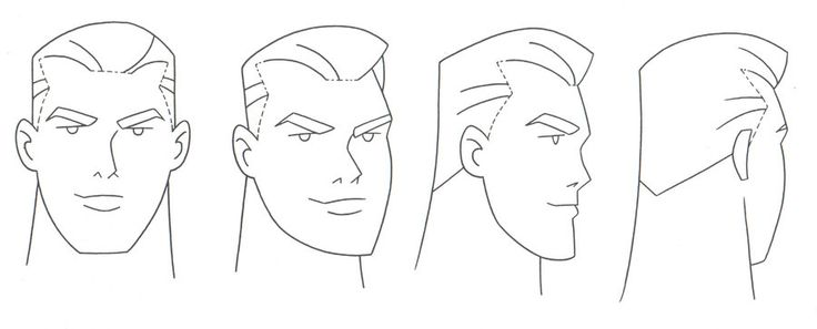 Reference Model Sheet of Batman