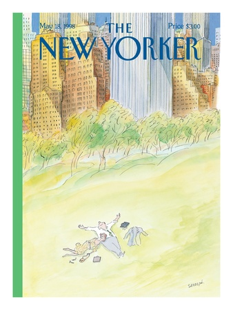 Sempé - The New Yorker cover
