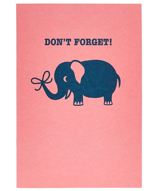 Don't Forget Notebook | Stationery | Pinterest