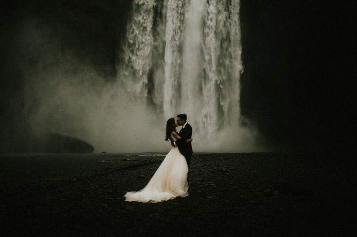 This Icelandic destination elopement's intimate ceremony and breathtaking photos of the Nordic wilderness are giving us serious wanderlust!