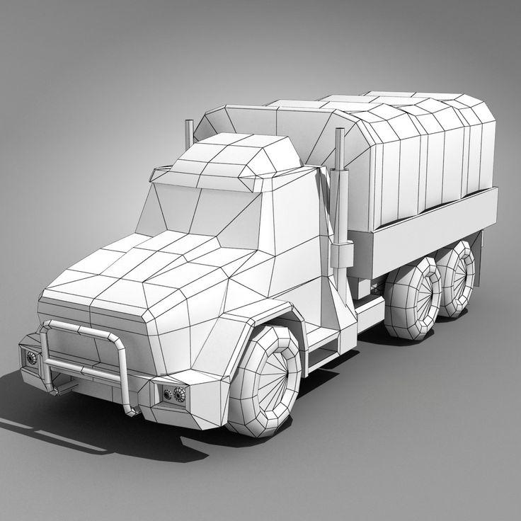 future armored truck 3d max