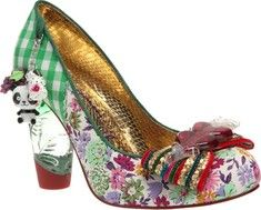 The Stick Of Rock is a pump from Irregular Choice with an ornately decorated and detailed upper.