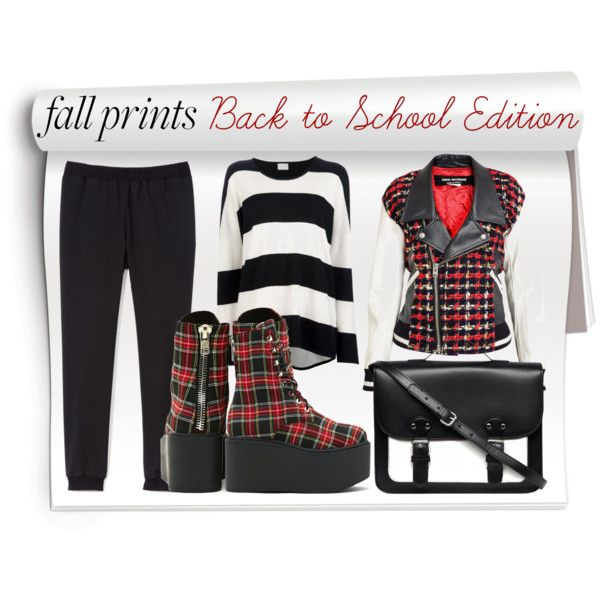 """""""Go Punk and Grunge To School"""" by bonjepslookbook on Polyvore"""