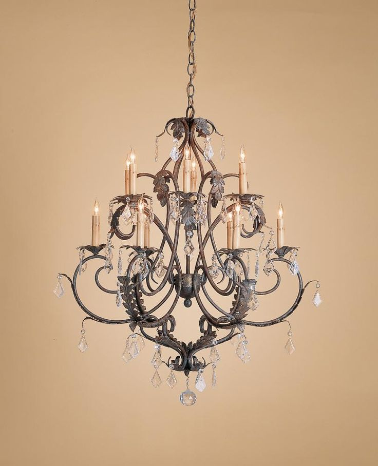 Venetian gold leaf bronze up chandelier heirloom collection by currey lighting dulles electric supply