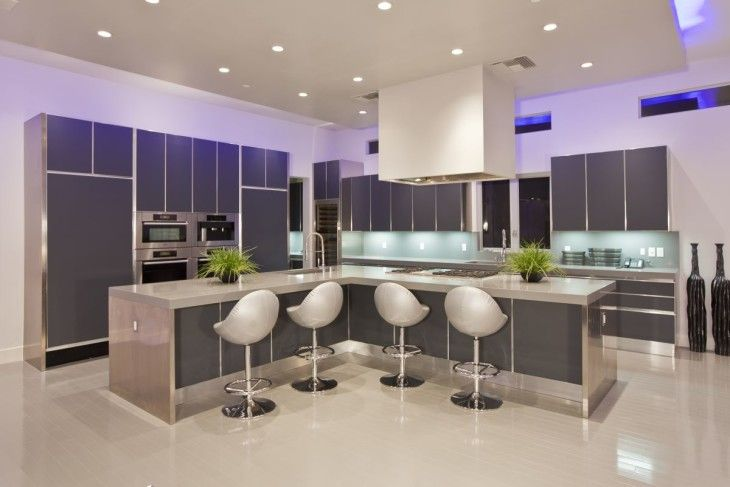 LED Kitchen Lighting Ideas Ujoli  - pictures, photos, images