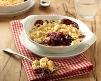 Blueberry & Apple Crumble with Honey
