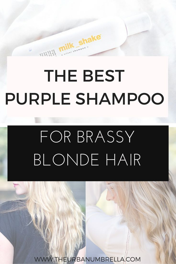 The Best Purple Shampoo for Blondes (Fix Brassy Hair for Good!)    Struggling with brassy blonde hair? Fix it with this amazing shampoo! This is the best purple shampoo and will cure your brassy hair in minutes!