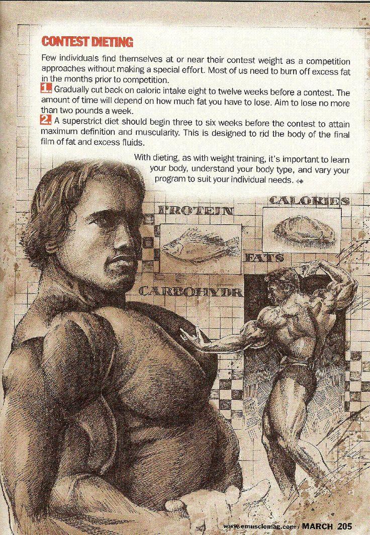 MUSCLE GAINS: Arnold Schwarzenegger: 016 - Contest Dieting