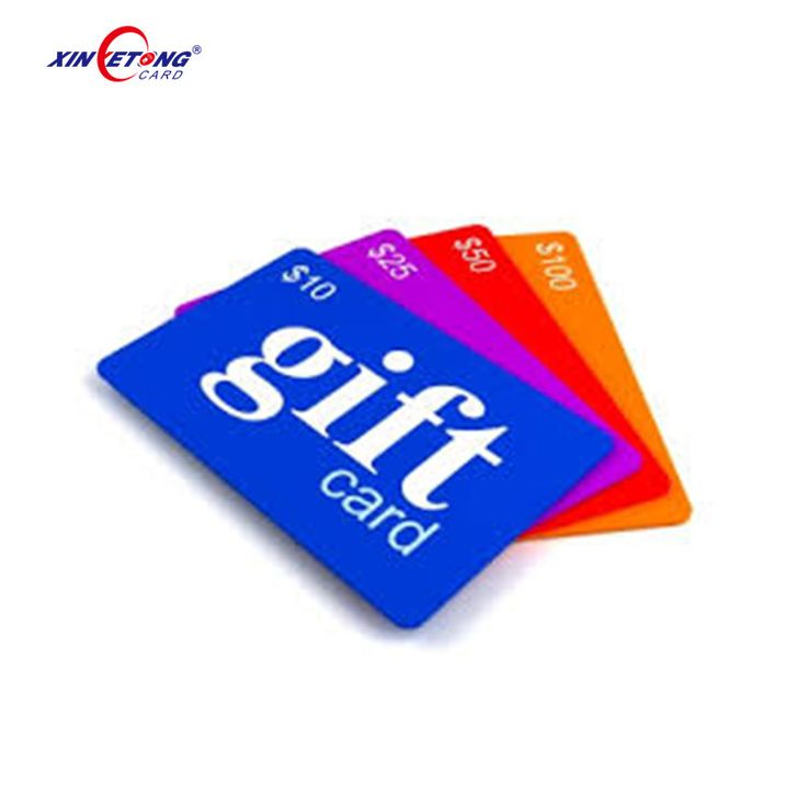 Xinyetong CR80 Customized printable NFC Chip Ultralight Inside NFC PVC Card/ Gift card/member vip card