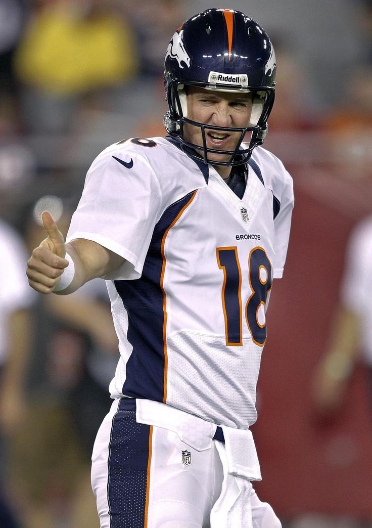 """Peyton Manning ~ """"I'm back baby..."""""""