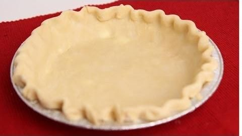Basic Pie Crust Recipe - Laura in the Kitchen (Super easy! The best pie crust I have ever made!!!)